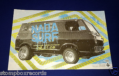 2008 Nada Surf CONCERT POSTER In-Store Performance Park Ave CD's Orlando FL