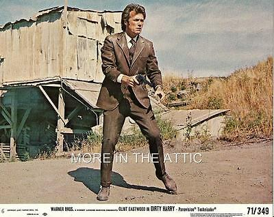 Clint Eastwood Is Dirty Harry Lot Of 5 Original Us Mini Lobby Cards
