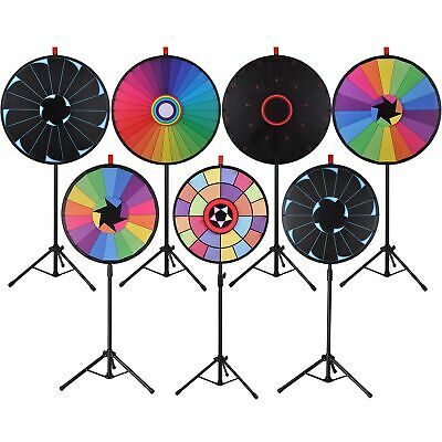 WinSpin® Tripod Prize Wheel Fortune Spin Game Tradeshow Mall Carnival Lottery
