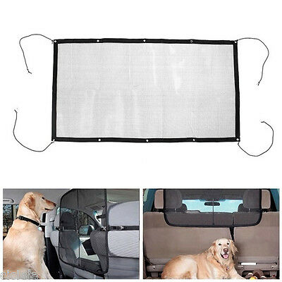 Auto Car Dog Carrier Screen Pet Fence Anti-collision Net Mesh Isolation Barrier