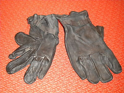 U.s.army :m-1949 Glove Shells Leather, ,korea War Size 4