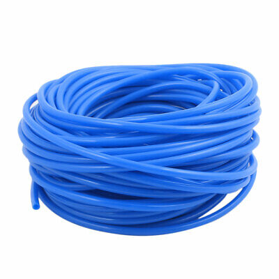 2.5mm x 4mm Flexible Pneumatic Polyurethane PU Hose Pipe Tube Blue 17m Length