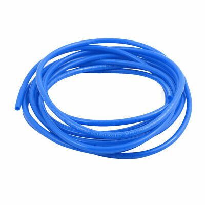 4mm x 6mm Flexible Pneumatic Polyurethane PU Hose Pipe Tube Blue 4.5m Length