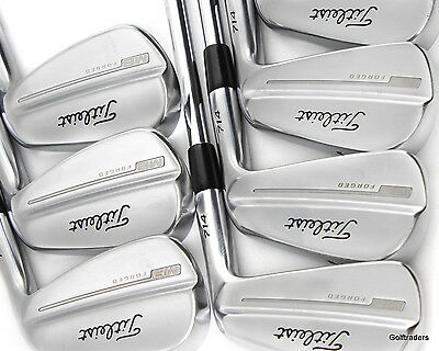 "Titleist Mb Forged 714 Irons 4-Pw Steel Extra Stiff (+0.75"" Longer) - #d5004"