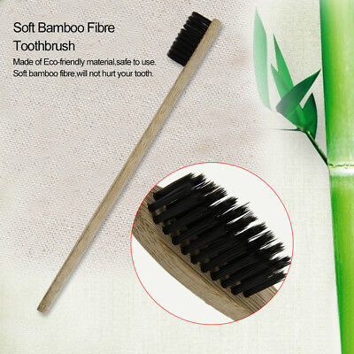 Environment-friendly Wood Toothbrush Bamboo Toothbrush Soft Bamboo Fibre HT