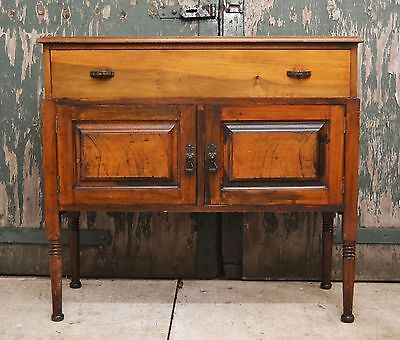 Vintage/antique solid wood small sideboard - 2079