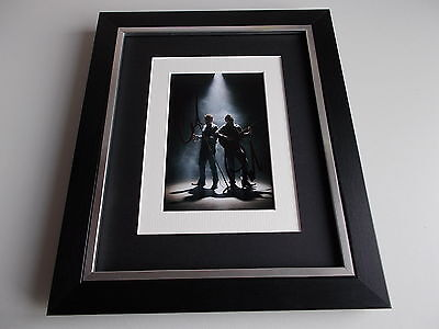 The Proclaimers SIGNED 10x8 FRAMED Photo Autograph Display Music AFTAL & COA