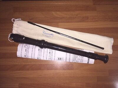 Concordia CDR25 school descant recorder with cleaning stick and bag