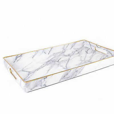 8 Oak Lane Marble Accent Tray