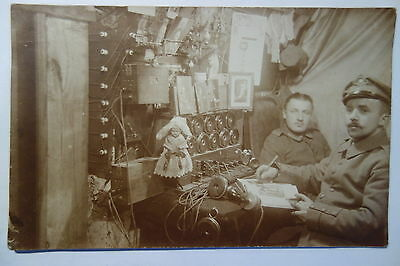 Villers les Royes Telefon Stell. Frankreich 1.WK Somme Offensive St. Mard - Roye