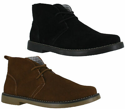 Mens Northwest Barlow Premium Suede Lace Up Ankle Desert Boots Sizes 6 to 12
