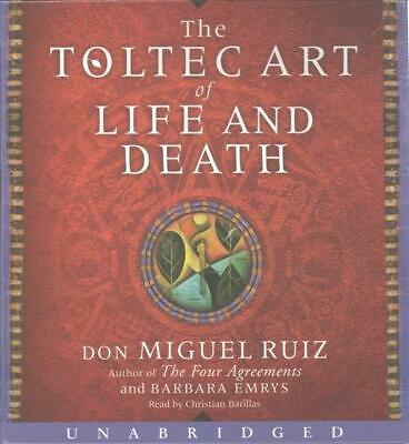 The Toltec Art of Life and Death Low Price CD by Don Miguel Ruiz (English) Compa