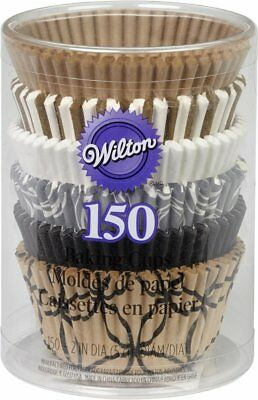Wilton Elegance Standard Fluted Cupcake Muffin Liner Party Baking Cups 150-Count