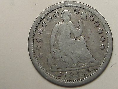 1853 US Seated Liberty Half Liberty.  #5