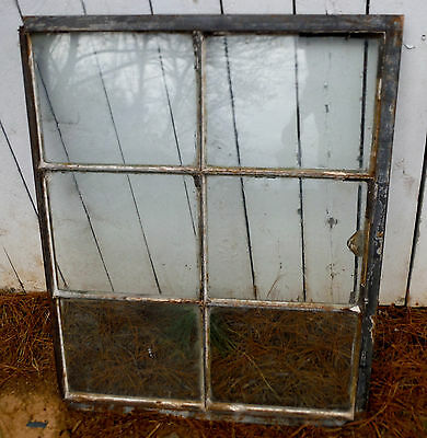 "Vintage Heavy Duty Casement Steel Window (35"" x 29"") more availble if interested"