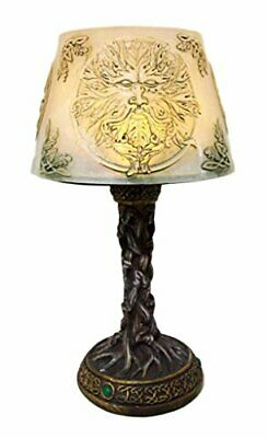 Collectibles Ancient Deity Greenman Whispering Willows Mini LED Table C