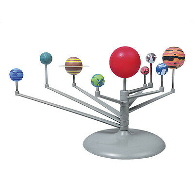 Solar System Planetarium Model Kit Astronomy Science Scool Project Diy Game~New