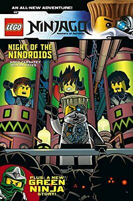 Lego Ninjago Vol.9 - Night Of The Nindroid's by Jolyon Yates Book The Cheap Fast
