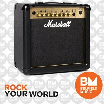 Marshall MG15GFX Guitar Amplifier Combo 15W w/ FX GOLD SERIES Replaced MG15CFX