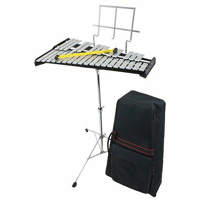 Percussion Workshop KB008 32 Note Glockenspiel with Carry Case