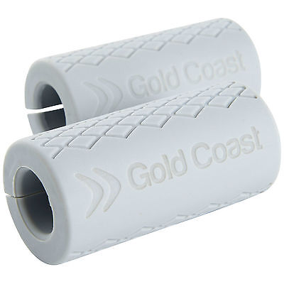 Gold Coast Dumbbell Barbell Forearm & Grip Strength Builders - Set of 2
