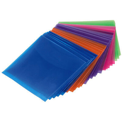 Hama CD / DVD Protective Sleeves - Various Colours - 50 Pack - Ref. 00033801