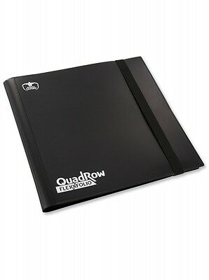 12-Pocket Quadrow FlexFolio Schwarz - Ultimate Guard Karten-Portfolio Album