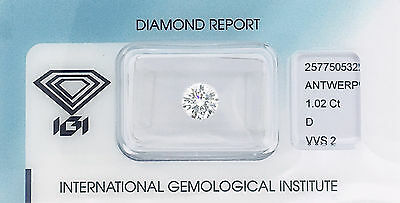Diamant 1,02 ct