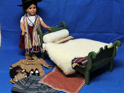 American Girl Doll, Josephina Doll Trunk Bed Outfit Lot,  no box