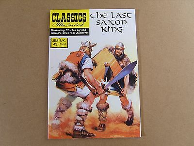 CLASSICS ILLUSTRATED JES  No 49 (2010) - THE LAST SAXON KING