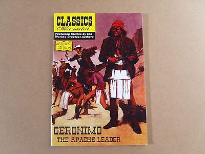 CLASSICS ILLUSTRATED JES  No 42 (2011) - GERONIMO THE APACHE LEADER