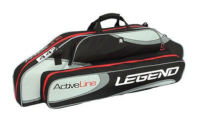 Active Line Legend 44in. Padded compound bow case soft black red gray