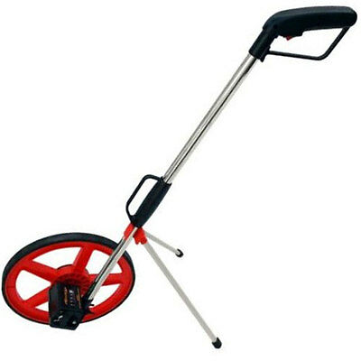 Surveyors Road Contractors Builders Foldable Distance Measuring Wheel With Bag!!