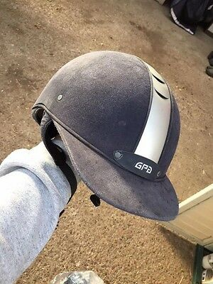 GPA Riding Hat Navy 56cm