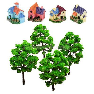 Model Tree Miniature Dollhouse Bonsai for Display Artificial Scene