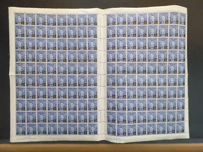Australia Sc #189 / SG #201 MNH Folded Gutter Sheet of 160 SG CV £400+
