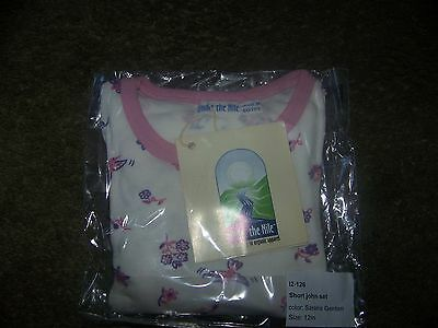Under The Nile Pink Short John  18  Months New