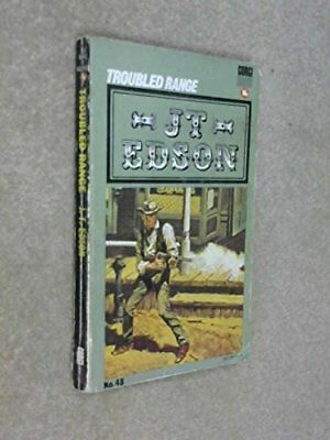 Troubled Range by Edson, J. T. Paperback Book The Cheap Fast Free Post