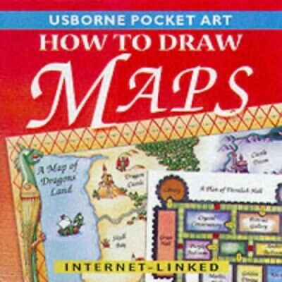 How to Draw Maps and Charts (Pocket Art), Smith, Alastair Paperback Book The