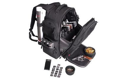 G.P.S. Wild About Shooting Discreet Executive Backpack, Covert Range Bag, Black