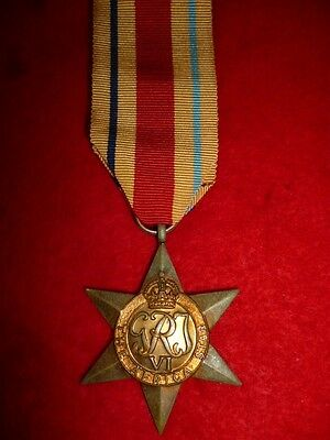 The Africa Star Medal WW2 - Genuine