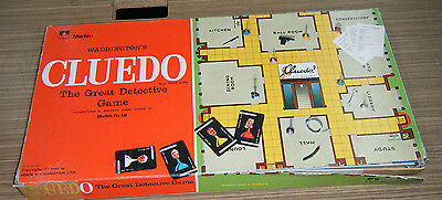 Vintage c1970's Cluedo Board Game