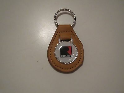 Roush Ford Mustang F Ford Gt Performance R Logo Keychain White