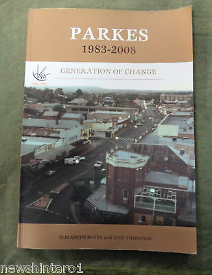 #MM.  AUSTRALIANA BOOK - PARKES NSW  1983 to 2008