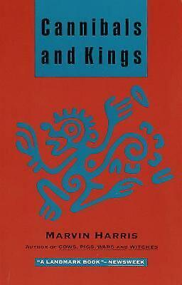Cannibals and Kings: Origins of Cultures by Marvin Harris (English) Paperback Bo