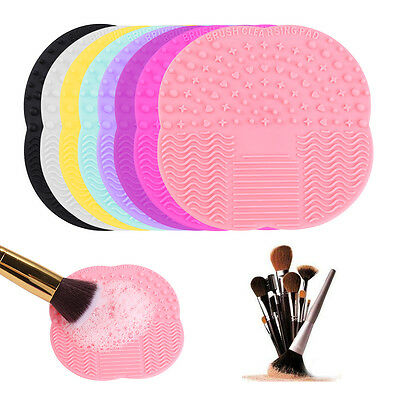 Pinsel Cleaning Mat Pad Cosmetic Make Up Washing Brush Gel Cleaner Scrubber