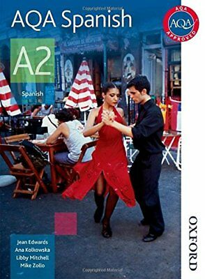 AQA Spanish A2: Student's Book (Aqa A2) by Zollo, Mike Paperback Book The Cheap