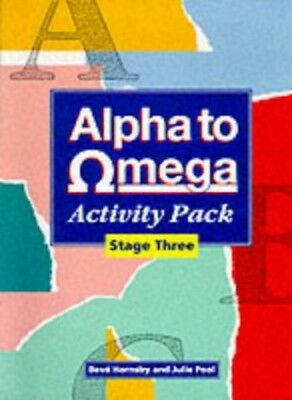 Alpha to Omega: Stage Three Activity Pack: A. to Z. o..., Shear, Frula Paperback