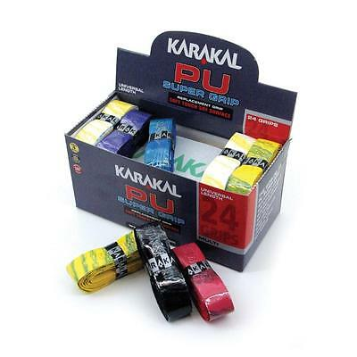 Karakal PU Super Grips Replacement Overgrip Assorted Colours Tacky Self Adhesive