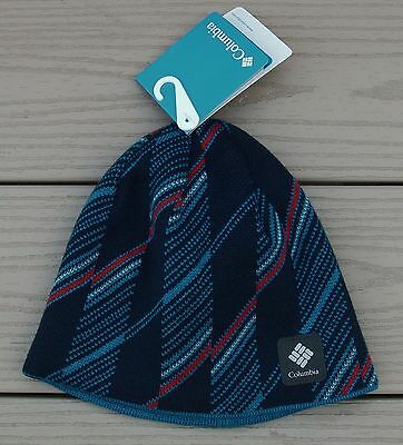 "NWT COLUMBIA Youth ""Urbanization Mix"" Reversible Knit Beanie Hat-OSFM  Ret@$20"
